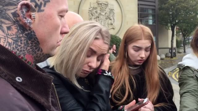 vídeos y material grabado en eventos de stock de sara edwards speaks outside glasgow high court after speeding driver luke pirie is jailed for six years for killing her two year old daughter harlow... - glasgow escocia
