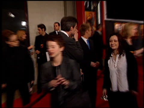 sara gilbert at the premiere of 'the beach' at grauman's chinese theatre in hollywood, california on february 2, 2000. - mann theaters stock videos & royalty-free footage