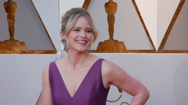 sara haines at the 90th academy awards arrivals at dolby theatre on march 04 2018 in hollywood california - 90th annual academy awards stock videos & royalty-free footage