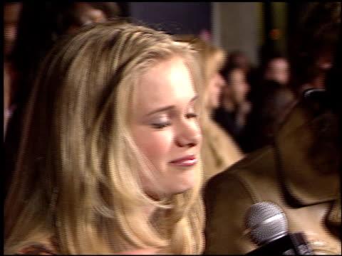 sara paxton at the teen people awards at the ivar in hollywood, california on january 13, 2003. - サラ パクストン点の映像素材/bロール