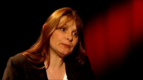 sara payne becomes government victims' champion; london: int sara payne interview sot - on her new role as victims' champion - difficulties faced by... - mary nightingale stock videos & royalty-free footage