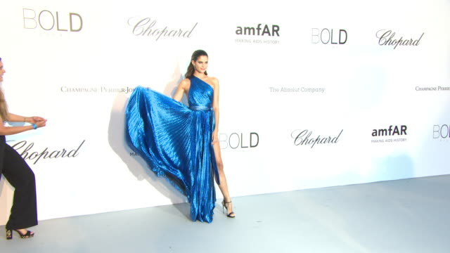 Sara Sampaio at amfAR Gala Cannes 2018 on May 17 2018 in Cap d'Antibes France