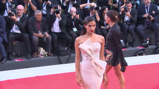 Sara Sampaio at First Man Red Carpet Arrivals Opening Ceremony And Lifetime Achievement Award To Vanessa Redgrave 75th Venice Film Festival on August...