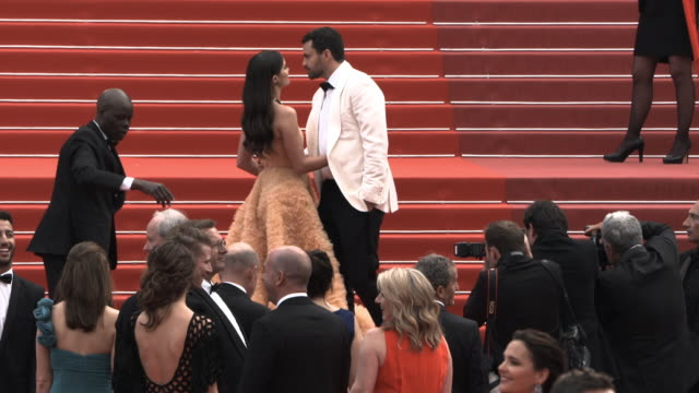 GIF Sara Sampaio Oliver Ripley at 'Once Upon a time in Hollywood ' Red Carpet Arrivals The 72nd Cannes Film Festival at Grand Theatre Lumiere on May...