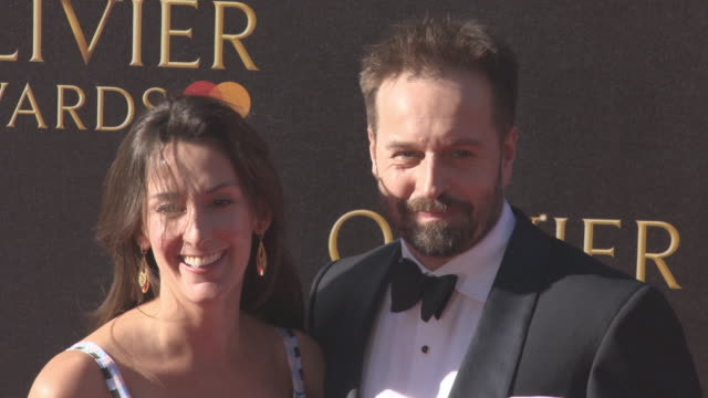 Sarah Boe Alfie Boe at The Olivier Awards with MasterCard on April 09 2017 in London England