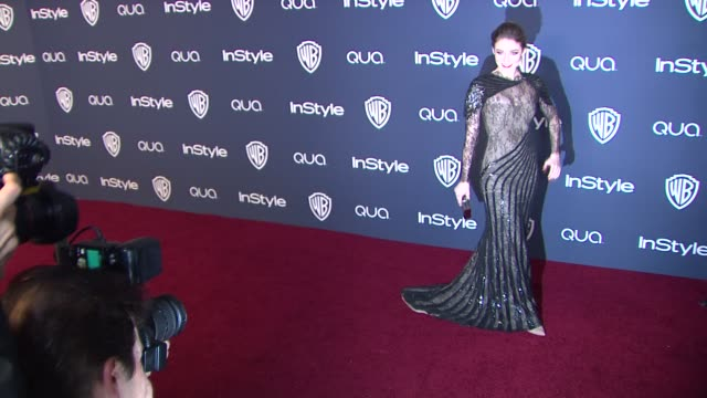 sarah bolger at 2014 instyle and warner bros. 71st annual golden globe awards post-party at the beverly hilton hotel on in beverly hills, california. - the beverly hilton hotel点の映像素材/bロール