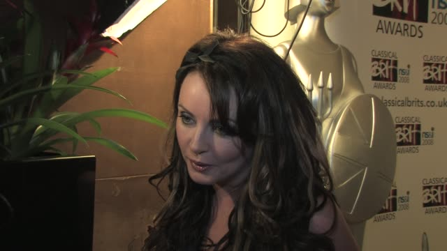 sarah brightman on how hard to decide who should be nominated at the classical brits awards launch on april 8, 2008. - sarah brightman stock videos & royalty-free footage