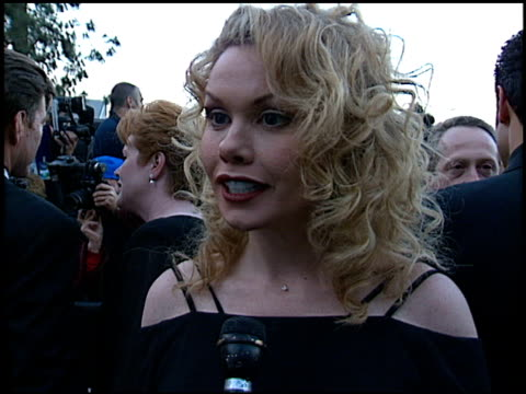 stockvideo's en b-roll-footage met sarah brown at the soap opera digest awards entrances at universal studios in universal city, california on february 26, 1999. - soapserie