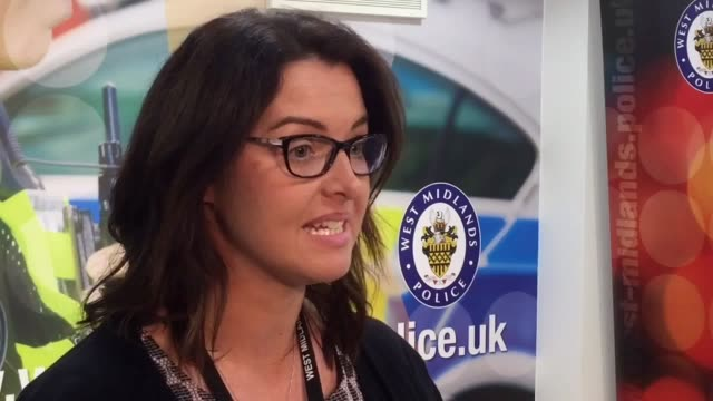 DCI Sarah Burton appealing for witnesses after a 200shot boxed firework was used in an arson attack in Birmingham which left a man fighting for his...