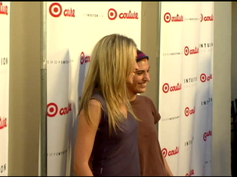 sarah carter at the launch the target couture collection by intuition founder jaye hersh at social hollywood in hollywood california on may 11 2006 - jaye hersh stock videos and b-roll footage