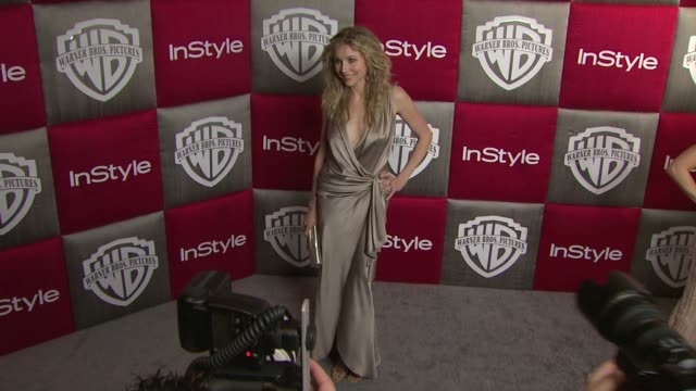 sarah chalke at the in style and warner bros studios 10th annual golden globes afterpart at los angeles ca - sarah chalke stock videos & royalty-free footage