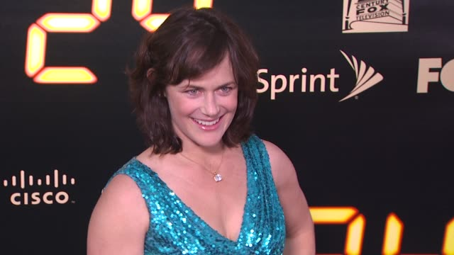 sarah clarke at the '24' series finale party at hollywood ca. - 女優 サラ クラーク点の映像素材/bロール