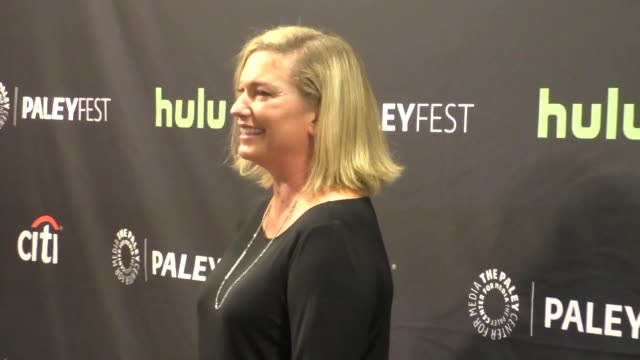 sarah dunn at the paley center for media's paleyfest 2016 fall tv preview - abc at celebrity sightings in los angeles on september 10, 2016 in los... - paley center for media los angeles stock videos & royalty-free footage