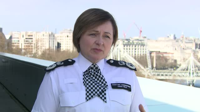 metropolitan police interviews; england: london: ext louisa rolfe interview sot. q - in terms of this report - it's almost a complete vindication. a... - crime and murder stock-videos und b-roll-filmmaterial