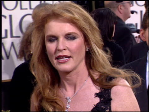 Sarah Ferguson at the 2004 Golden Globe Awards at the Beverly Hilton in Beverly Hills California on January 25 2004