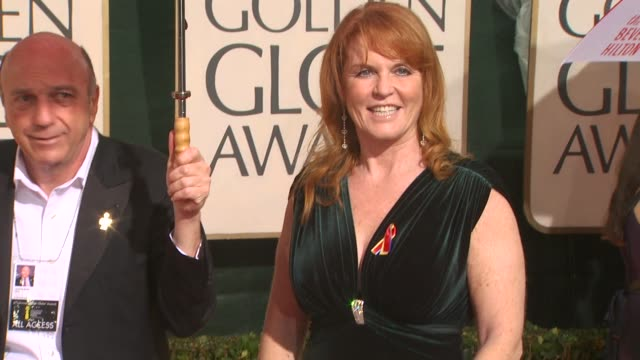 Sarah Ferguson at the 67th Annual Golden Globe Awards Arrivals Part 5 at Beverly Hills CA