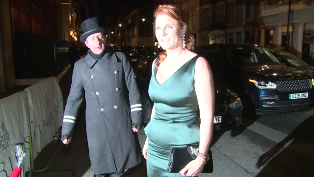 Sarah Ferguson Duchess of York on January 14 2016 in London England