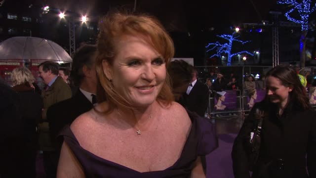 Sarah Ferguson Duchess of York on why she wanted to make the movie on reconnecting British people to their heritage and their hearts on her daughter...