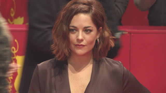 Sarah Greene at 68th Berlin Film Festival 'Black 47' World Premiere at Berlinale Palast on February 16 2018 in Berlin Germany