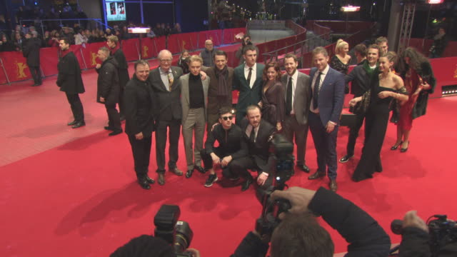 Sarah Greene Freddie Fox Moe Dunford Hugo Weaving James Frecheville Barry Keoghan Lance Daly Stephen Rea Jim Broadbent at 68th Berlin Film Festival...