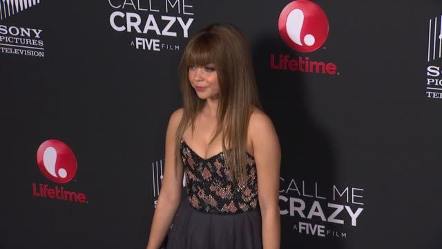 a five film premiere 4/16/2013 in west hollywood ca - sarah hyland stock videos and b-roll footage