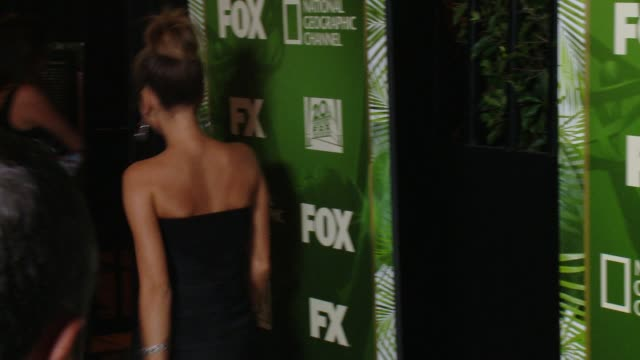 sarah hyland at fox 20th century fox television fx networks and national geographic channel's 2014 emmy award nominee celebration at vibiana on... - sarah hyland stock videos and b-roll footage