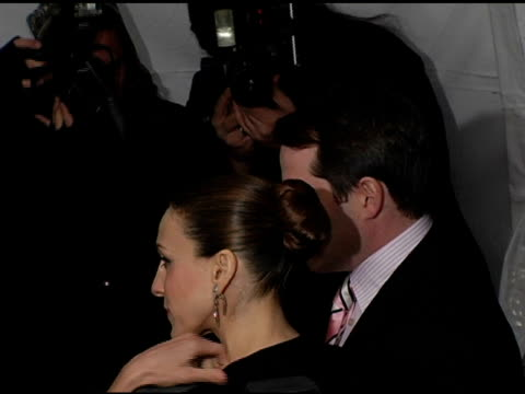 Sarah Jessica Parker and Matthew Broderick at the New York Premiere of 'The Producers' at the Ziegfeld Theatre in New York New York on December 4 2005
