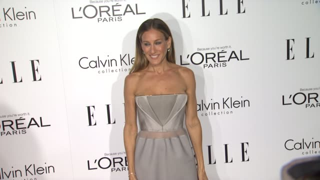 vídeos de stock, filmes e b-roll de sarah jessica parker at 19th annual elle women in hollywood celebration on in beverly hills ca - sarah jessica parker