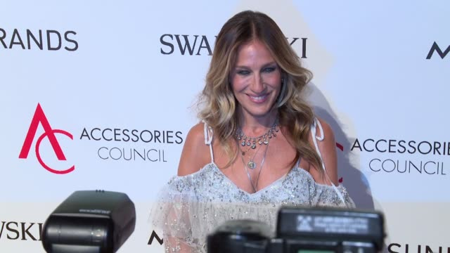 stockvideo's en b-roll-footage met sarah jessica parker at ace awards at cipriani 42nd street on august 02 2016 in new york city - sarah jessica parker