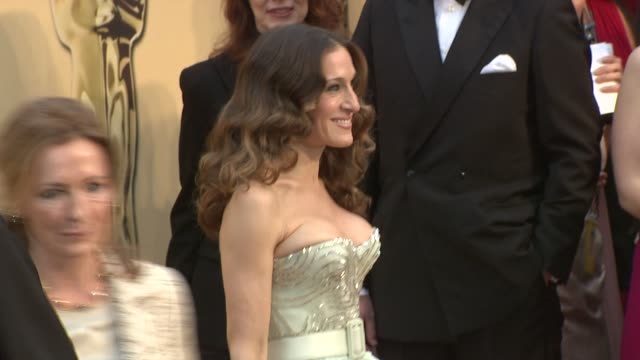 Sarah Jessica Parker at the 81st Academy Awards Arrivals Part 6 at Los Angeles CA