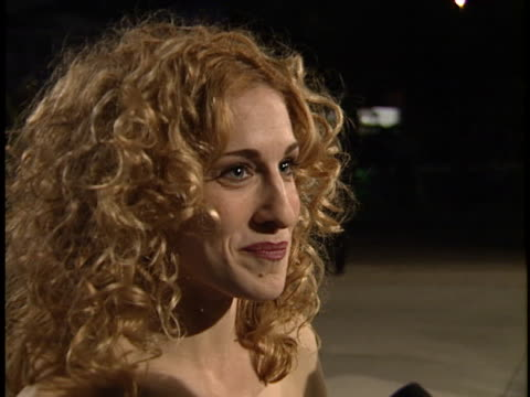 stockvideo's en b-roll-footage met sarah jessica parker at the academy awards 95 morton party at mortons west hollywood in west hollywood ca - sarah jessica parker
