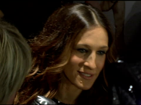 sarah jessica parker at the 'failure to launch' new york premiere at chelsea west in new york, new york on march 8, 2006. - failure to launch stock videos & royalty-free footage