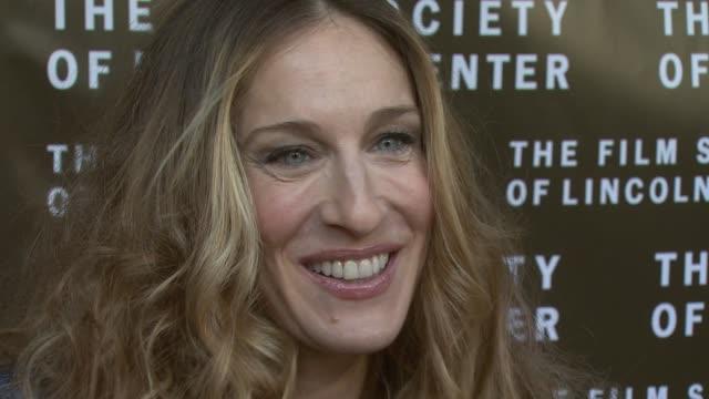 Sarah Jessica Parker at the Film Society of Lincoln Center Tribute to Diane Keaton at Avery Fisher Hall in New York New York on April 9 2007