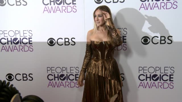 stockvideo's en b-roll-footage met sarah jessica parker at the people's choice awards 2017 at microsoft theater on january 18 2017 in los angeles california - sarah jessica parker