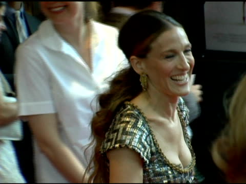 sarah jessica parker at the 'the devil wears prada' new york premiere at amc loews lincoln square in new york new york on june 19 2006 - the devil wears prada film title stock videos and b-roll footage