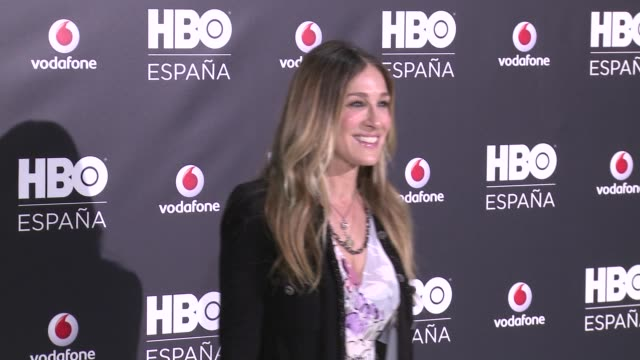 vídeos de stock, filmes e b-roll de sarah jessica parker. hbo spain presentation on december 15, 2016 in madrid, spain. - sarah jessica parker