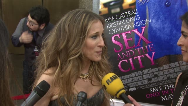 Sarah Jessica Parker on her excitement the anticipation and on the maturity of the movie characters as opposed to the tv series version at the 'Sex...