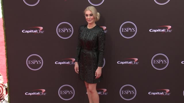 vídeos de stock, filmes e b-roll de sarah klein at the 2018 espys at microsoft theater on july 18 2018 in los angeles california - espy awards