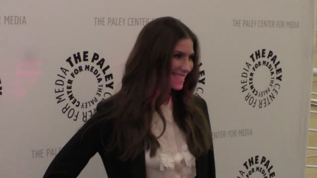 sarah levy at the paley center for media presents paleylive an evening with schitt's creek at paley center in beverly hills - celebrity sightings on... - paley center for media los angeles stock videos & royalty-free footage