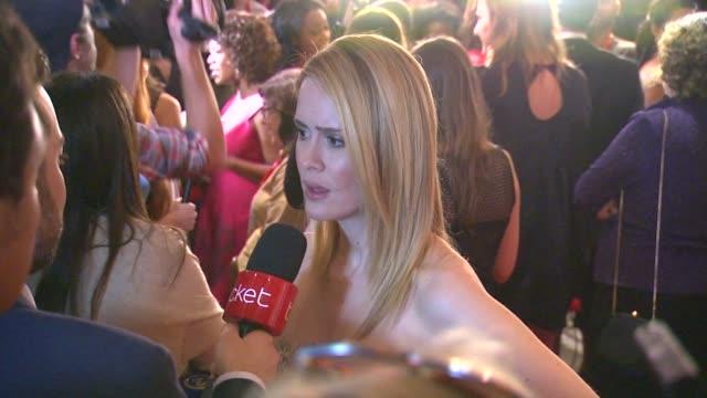 Sarah Paulson at '12 Years A Slave' Premiere 2013 Toronto International Film Festival on 9/6/2013 in Toronto Canada
