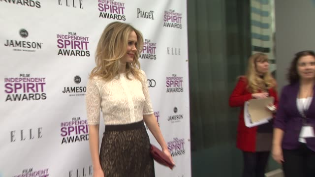 sarah paulson at 2012 film independent filmmaker grant and spirit award nominees brunch on 1/14/2012 in west hollywood, ca. - independent feature project stock videos & royalty-free footage