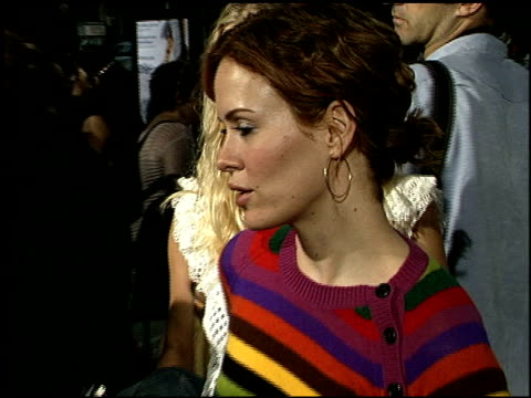sarah paulson at the 'one hour photo' premiere at academy theater in beverly hills california on august 27 2002 - sarah paulson stock videos and b-roll footage