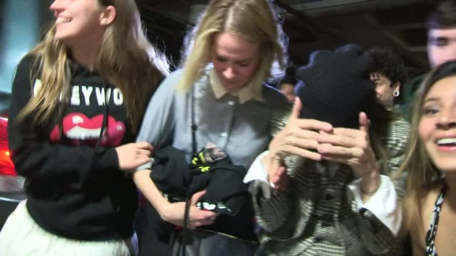 sarah paulson diane keaton departing the miley cyrus bangerz concert at the staples center celebrity sightings in los angeles on february 24 2014 in... - diane keaton stock videos & royalty-free footage