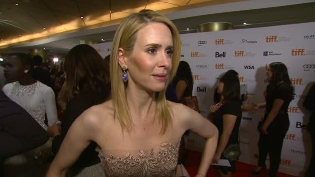 INTERVIEW Sarah Paulson on the importance of the event at '12 Years A Slave' Premiere 2013 Toronto International Film Festival on 9/6/2013 in Toronto...