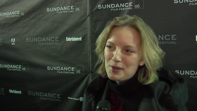 Sarah Polley on Sundance being her favorite festival Wim Wenders and her favorite films at the 2006 Sundance Film Festival Don't Come Knocking...
