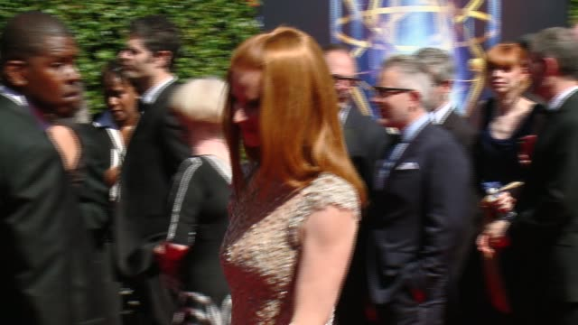 Sarah Rafferty at 2014 Creative Arts Emmy Awards in Los Angeles CA