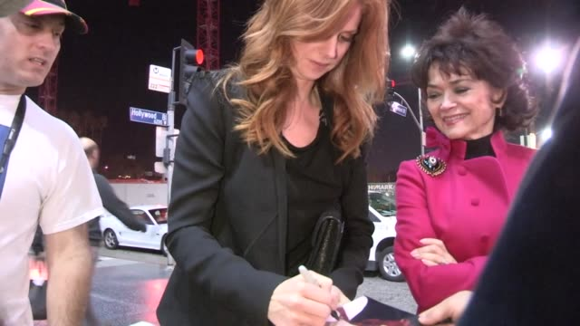 Sarah Rafferty Linda Hart greet fans at Catch Me If You Can in Hollywood 03/13/13