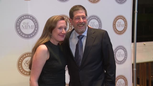 sarah ruhl, jim steinberg at 2016 steinberg playwright awards at lincoln center theater on november 14, 2016 in new york city. - scriptwriter stock videos & royalty-free footage