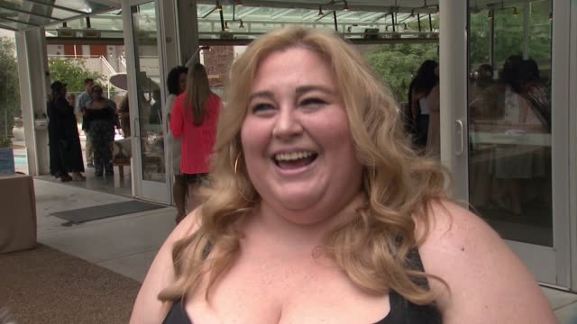 sarah sapora on being at the event being plus size what makes torrid great and the energy at the party at torrid #ownit pool party at the commune ace... - palm springs california pool stock videos & royalty-free footage