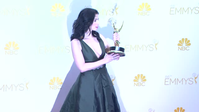 Sarah Silverman 66th Primetime Emmy Awards Photo Room at Nokia Theatre LA Live on August 25 2014 in Los Angeles California